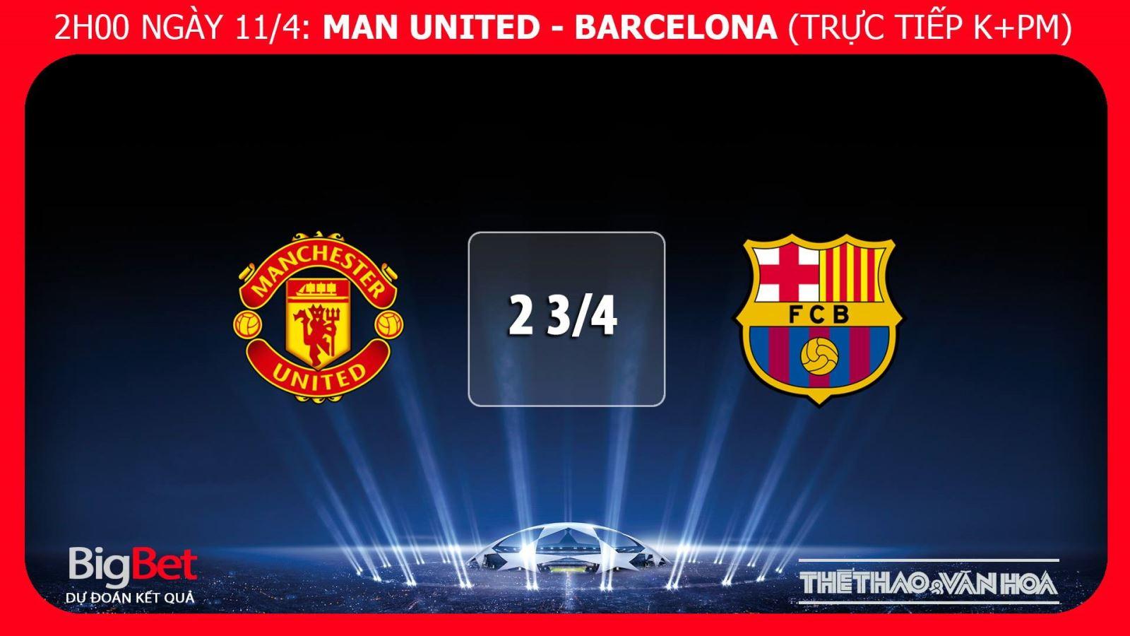 MU. Soi kèo MU vs Barca. Trực tiếp bóng đá. Lịch thi đấu C1. Barcelona
