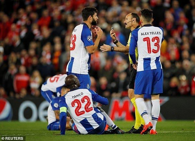 Liverpool, Mohamed Salah, salah, thẻ đỏ, porto, liverpool vs porto, trực tiếp liverpool vs porto, Cúp C1