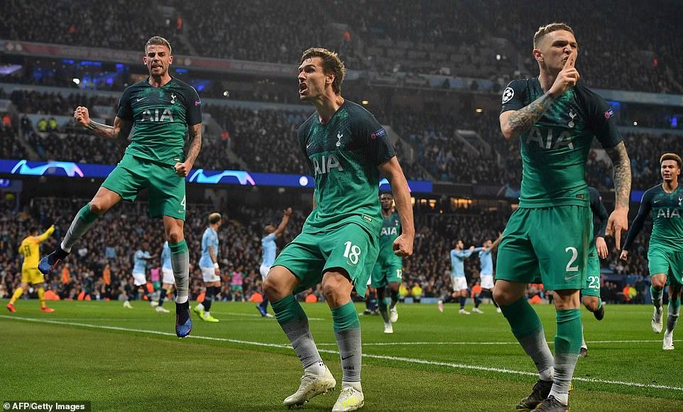 Kết quả Man City vs Tottenham, kết quả bóng đá, ket qua bong da, kqbd, video clip Man City 4-3 Tottenham, kết quả cúp C1, VAR, Man City bị loại, Pep Guardiola, Sterling