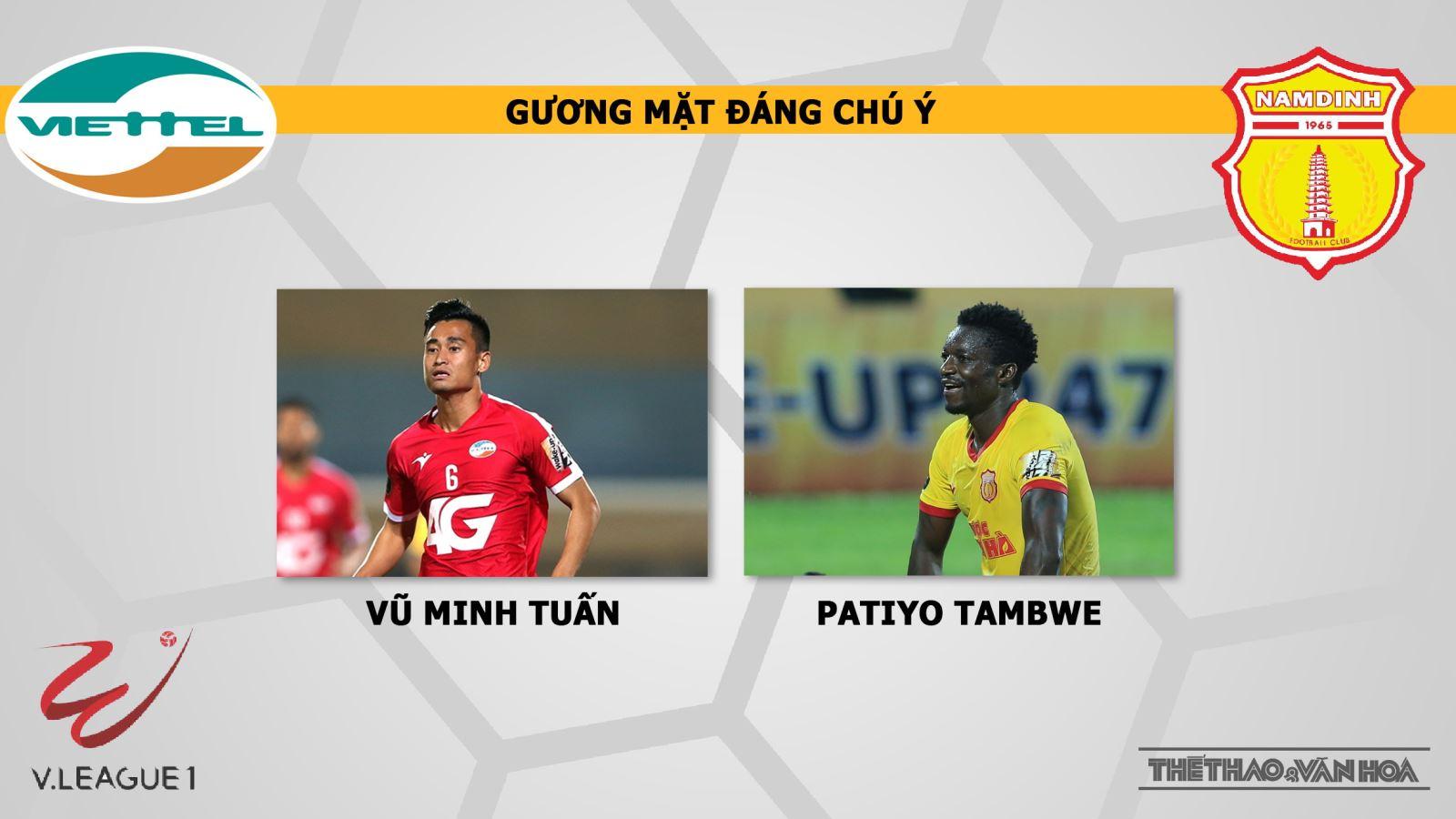 Viettel, Viettel vs Nam Định, truc tiep bong da, trực tiếp bóng đá, truc tiep Viettel vs Nam Dinh, VTV6, Nam Định, link truc tiep Viettel, xem truc tiep VLeague 2019, FPT