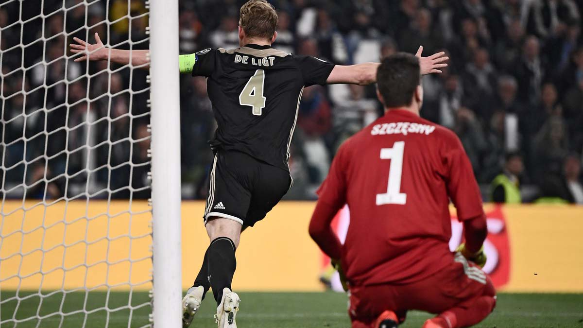 VIDEO bàn thắng Juventus 1-2 Ajax (tổng 2-3): Ronaldo ghi bàn, Juve vẫn bị loại