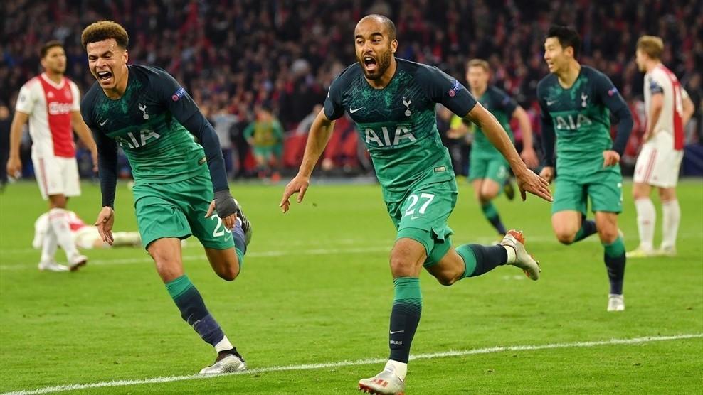 Bán kết C1 Ajax Tottenham, Tottenham ngược dòng loại Ajax, Lucas Moura lập hattrick Tottenham loại Ajax, Tottenham loại Ajax gặp Liverpool ở chung kết C1