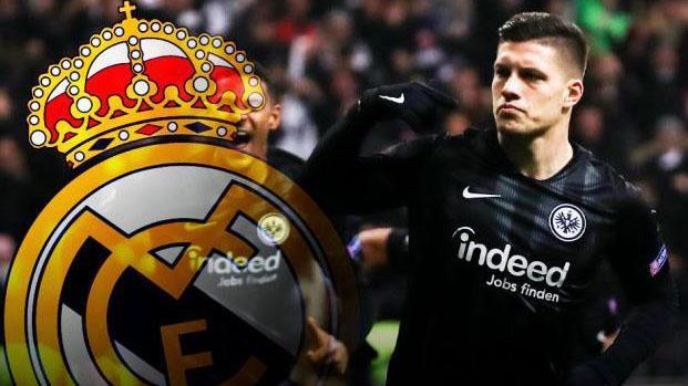VIDEO: Luka Jovic, tân binh trị giá 50 triệu euro của Real Madrid, xuất sắc cỡ nào?