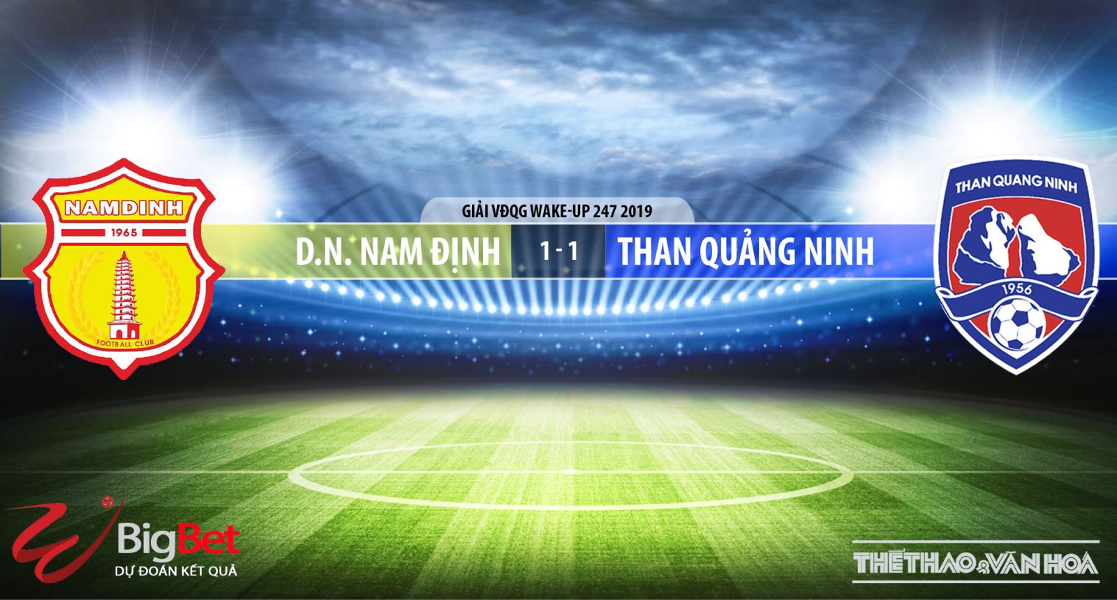 Nam Định vs Than Quảng Ninh, Nam Định, Than Quảng Ninh, truc tiep bong da, trực tiếp bóng đá, truc tiep Nam Dinh, truc tiep Nam Định vs Than Quang Ninh, v league 2019, truc tiep v league, BDTV, FPT Play