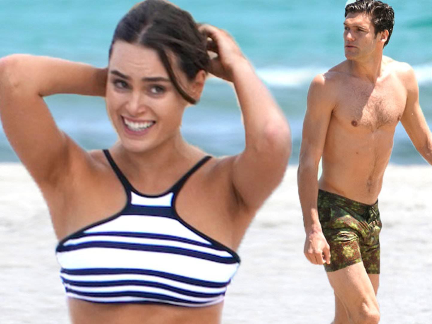 Bạn gái sao Chelsea khoe thân hình 'nóng bỏng mắt' khi tâng bóng trên bãi biển