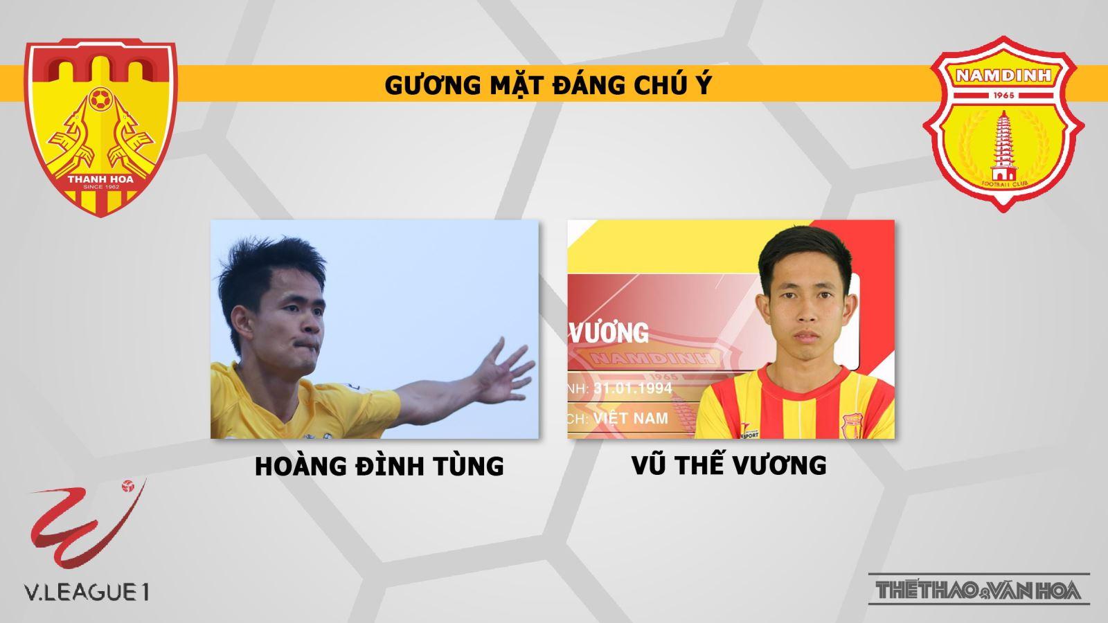 Thanh Hóa vs Nam Định, trực tiếp Thanh Hóa vs Nam Định, trực tiếp bóng đá, nhận định Thanh Hóa vs Nam Định, V-League 2019, Thanh Hóa, Nam Định