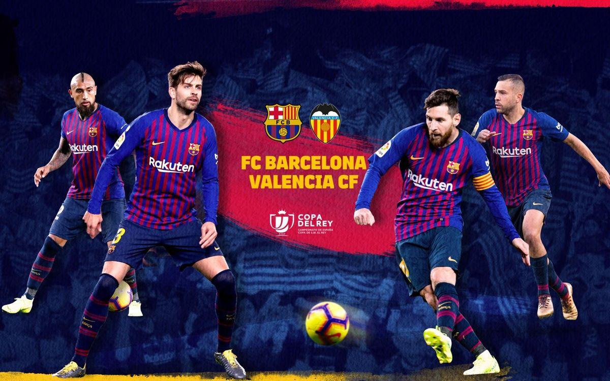 Barcelona vs Valencia, Barca, Valencia, trực tiếp Barcelona vs Valencia, trực tiếp bóng đá, chung kết cúp nhà vua tây ban nha