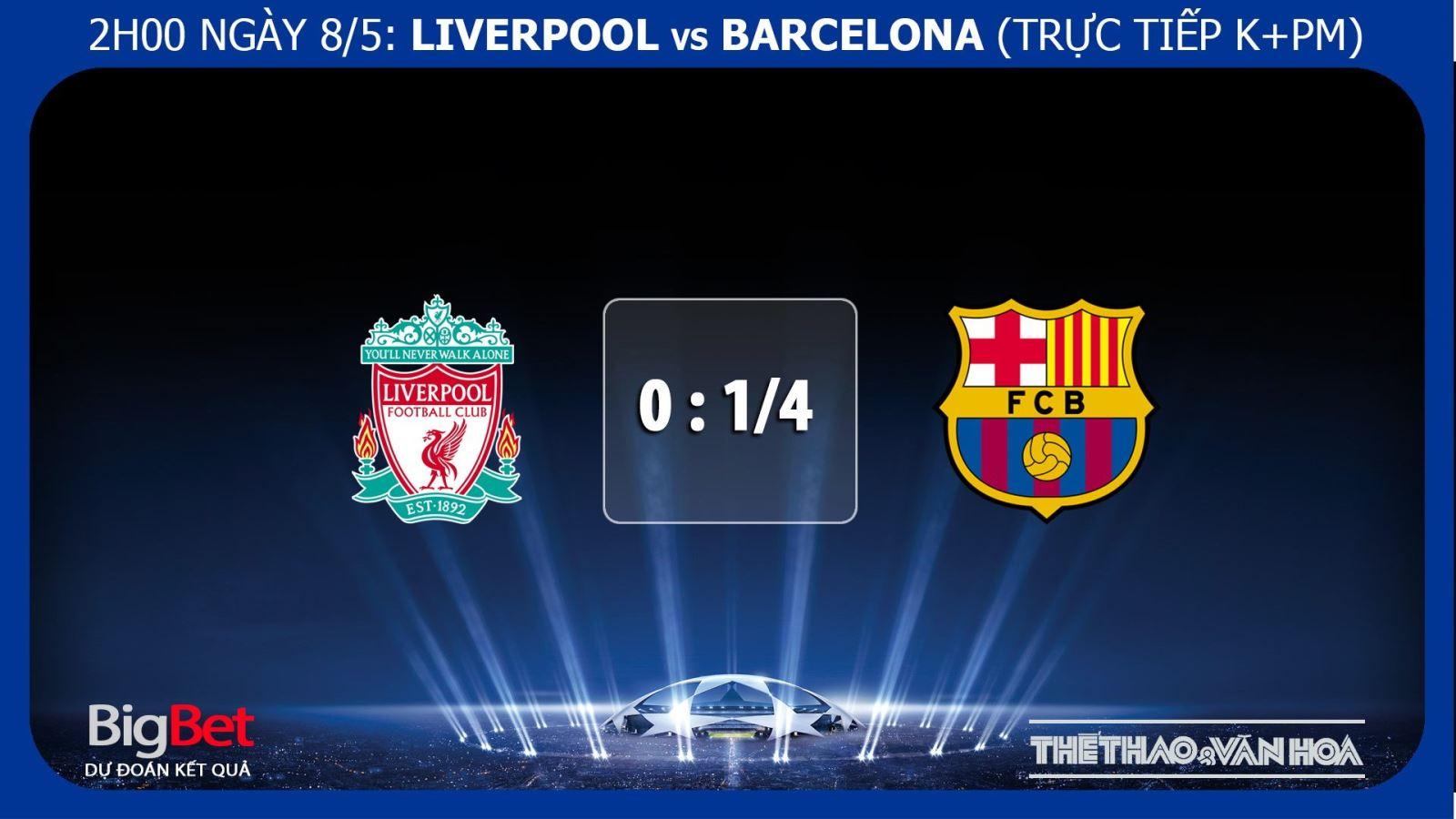Liverpool vs Barcelona, Liverpool vs barca, soi kèo Liverpool vs Barca, kèo bóng đá, truc tiep bong da, trực tiếp bóng đá, lịch thi đấu C1, cúp c1, Barcelona, Liverpool