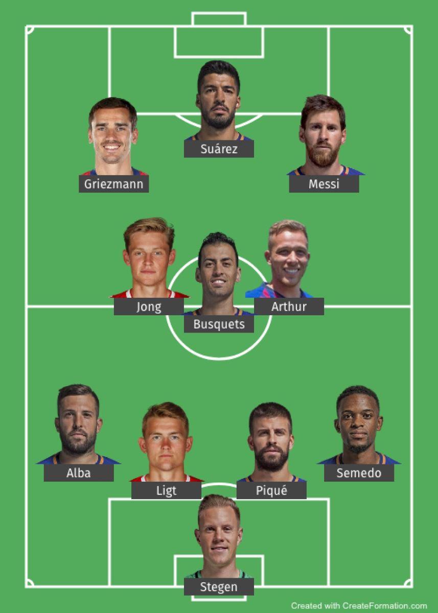Barcelona, Barca, Antoine Griezmann, Lionel Messi, Suarez, De Jong, De Ligt, chuyển nhượng