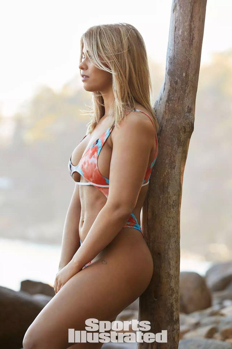 Paige VanZant, UFC, người đẹp, võ sĩ, áo tắm, hậu trường