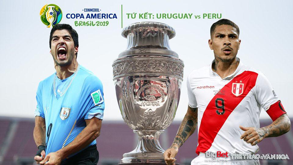Soi kèo Uruguay vs Peru (02h00, 30/6). Trực tiếp bóng đá Uruguay đấu với Peru, Copa America 2019