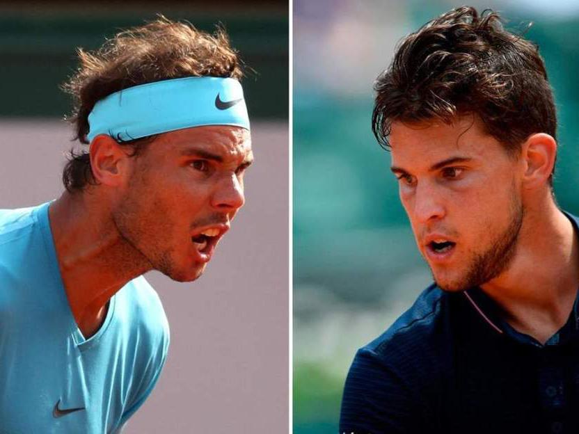 Link xem trực tiếp Dominic Thiem vs Rafael Nadal (20h00, 09/06)