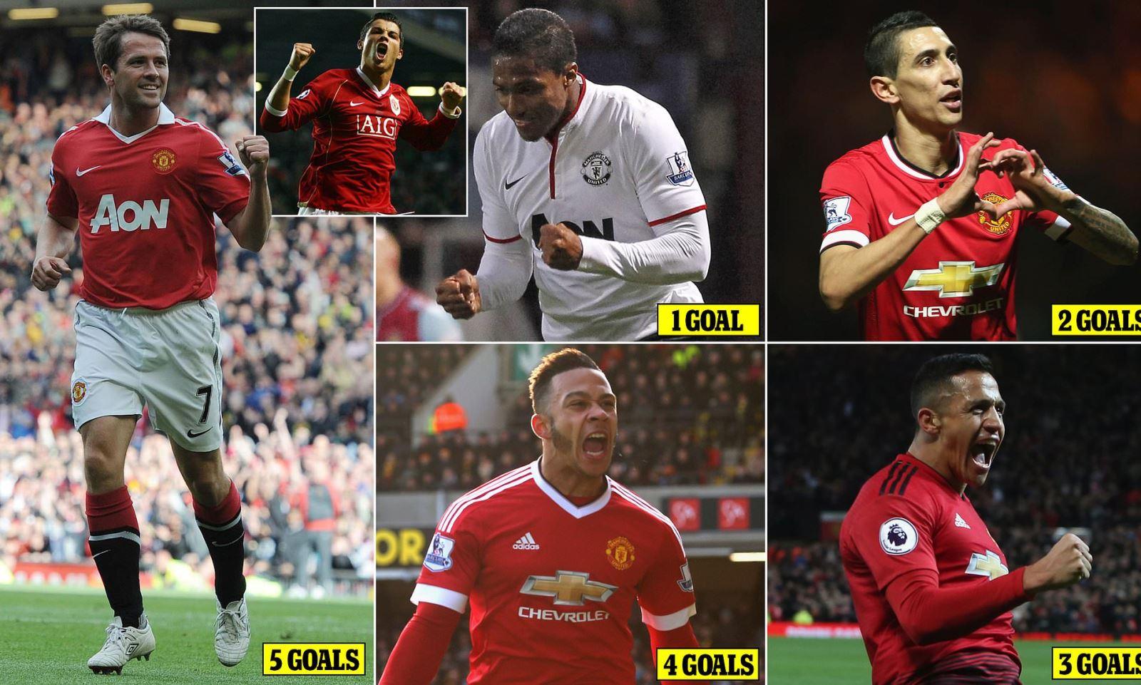 mu, manchester united, áo số 7, Cristiano Ronaldo, Michael Owen, Antonio Valencia, Angel Di Maria, Memphis Depay, Alexis Sanchez