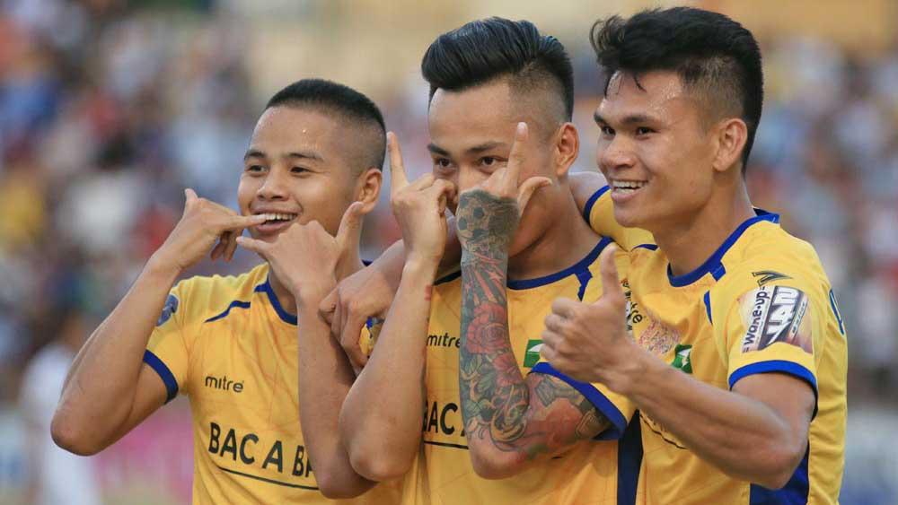 SLNA đấu với SHB Đà Nẵng, SLNA, SHB Đà Nẵng, trực tiếp SLNA vs Đà Nẵng, SLNA vs Đà Nẵng, trực tiếp V-League, kết quả V-League