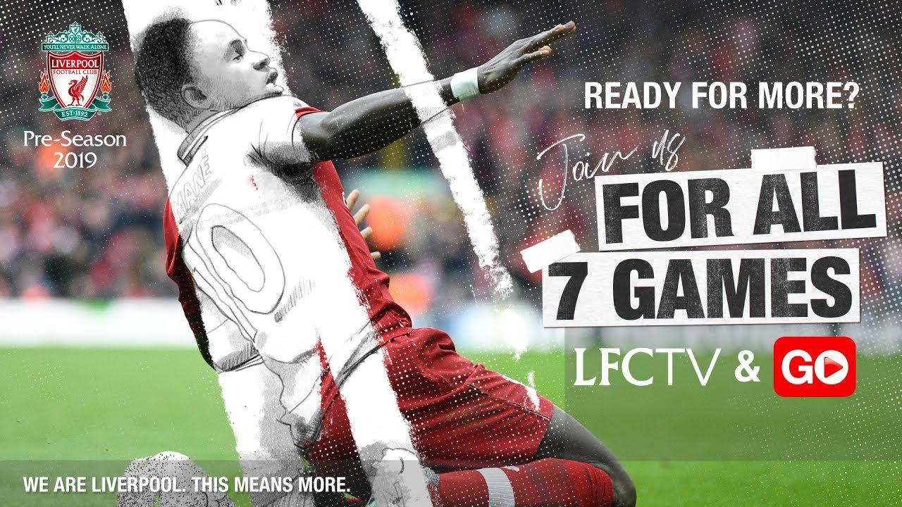 Lịch thi đấu giao hữu mùa Hè 2019 của Liverpool. Lịch du đấu của Liverpool