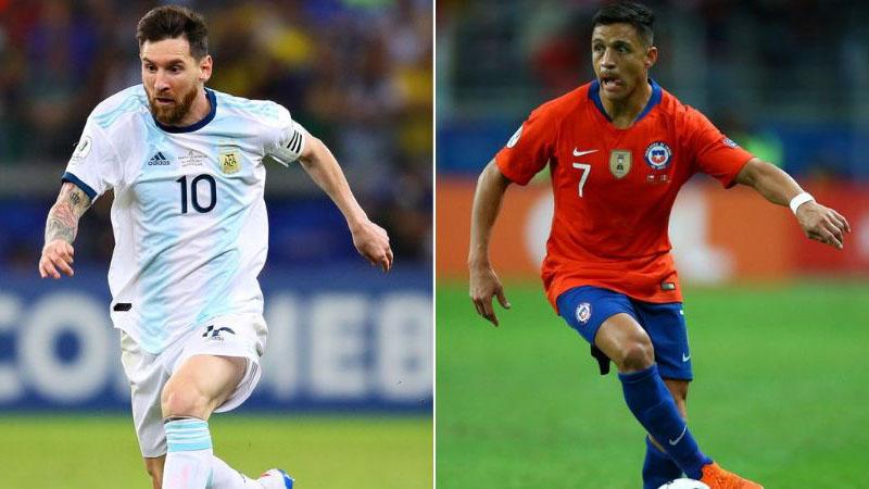 Xem trực tiếp bóng đá Argentina vs Chile (02h00, 07/07). Trực tiếp bóng đá Copa 2019