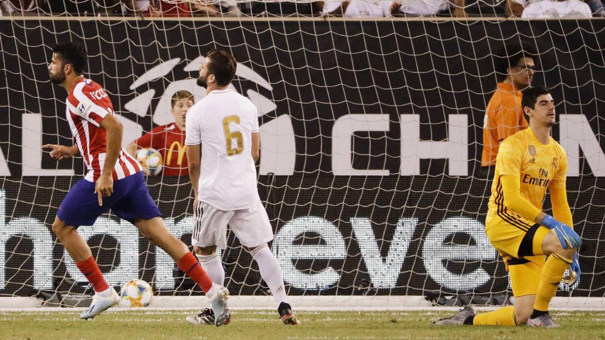 Real Madrid, Atletico Madrid, Zinedine Zidane, Real Madrid 3-7 Atletico Madrid, Diego Costa, La Liga, Pogba, lịch thi đấu