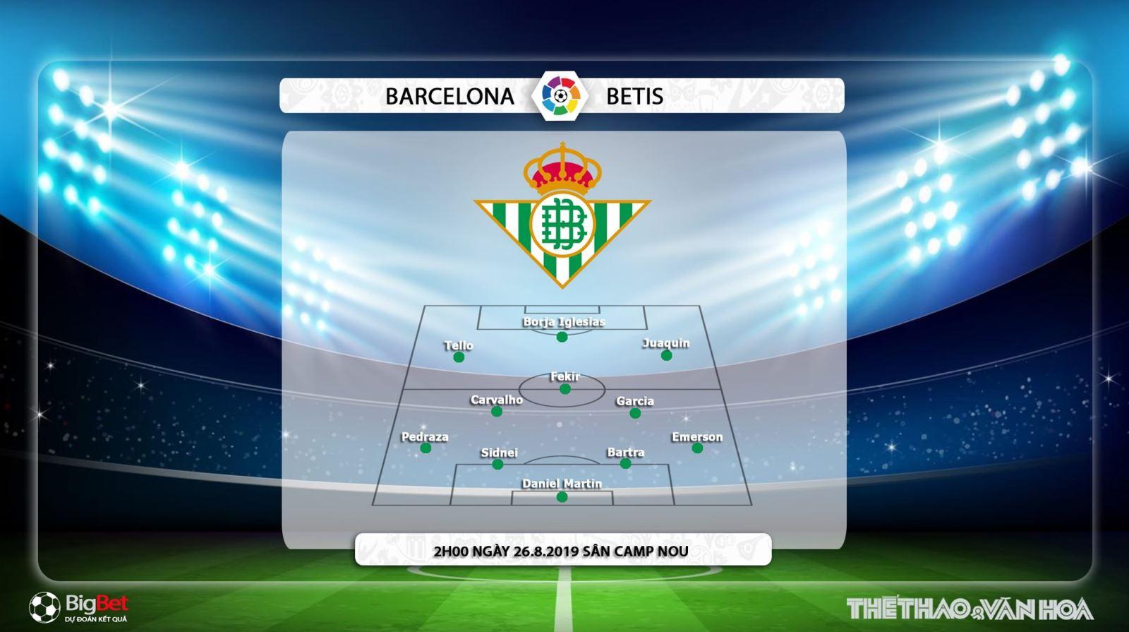 Barcelona vs Betis, trực tiếp bóng đá Barcelona vs Betis, barcelona, betis, nhận định Barcelona vs Betis, VTV6, VTV5, Bóng đá TV, Thể thao TV, FPT Play