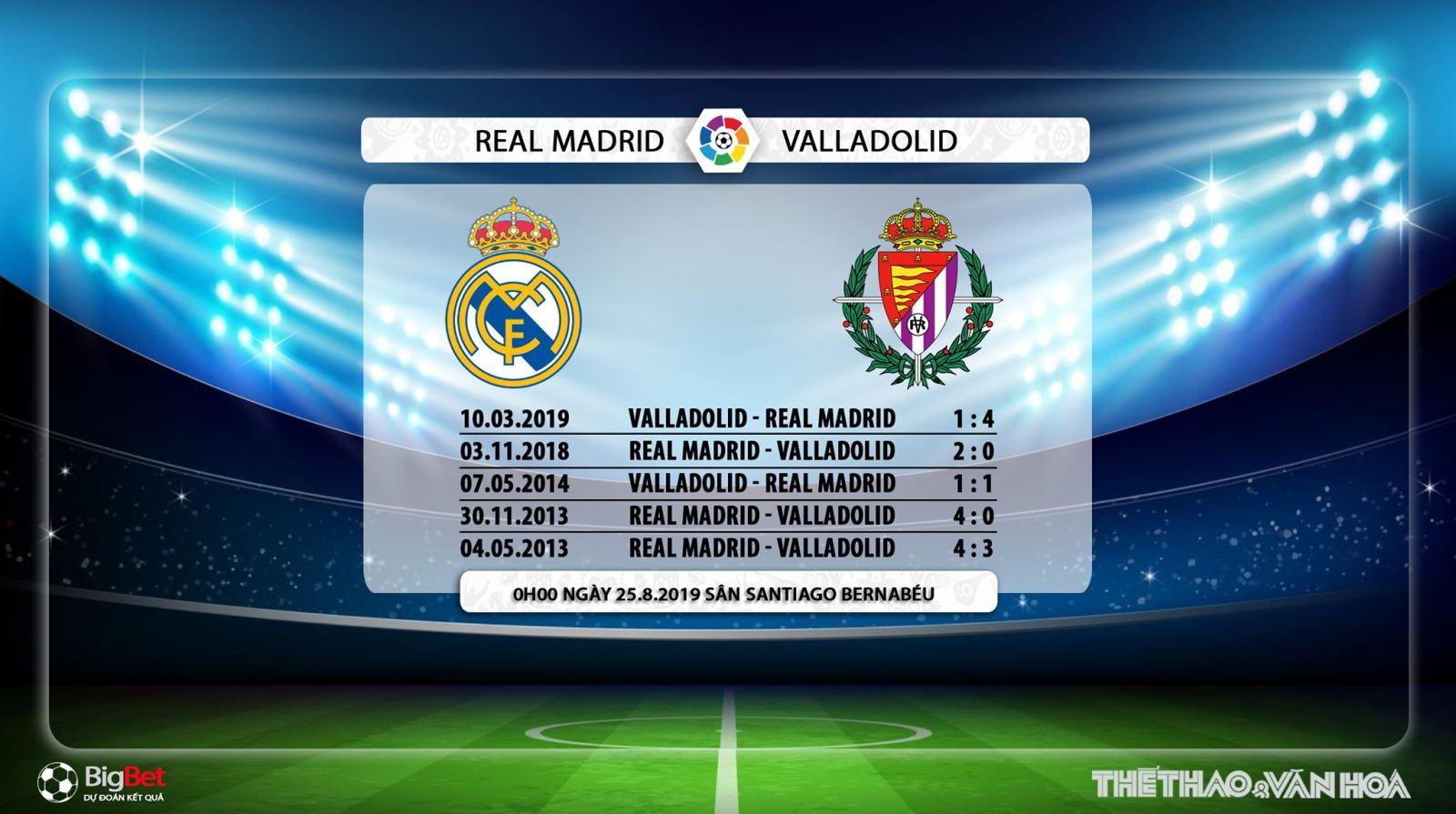 truc tiep bong da hôm nay, Real Madrid vs Valladolid, trực tiếp bóng đá, Real Madrid đấu với Valladolid, V League, Real Madrid, xem trực tuyến, VTV6, thể thao TV, BĐTV, FPT Play