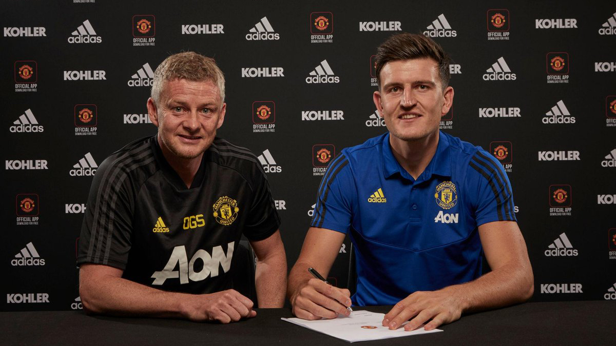 Harry Maguire, MU, manchester united, harry maguire gia nhập mu, chuyển nhượng, tin chuyển nhượng, solskjaer, chuyển nhượng MU