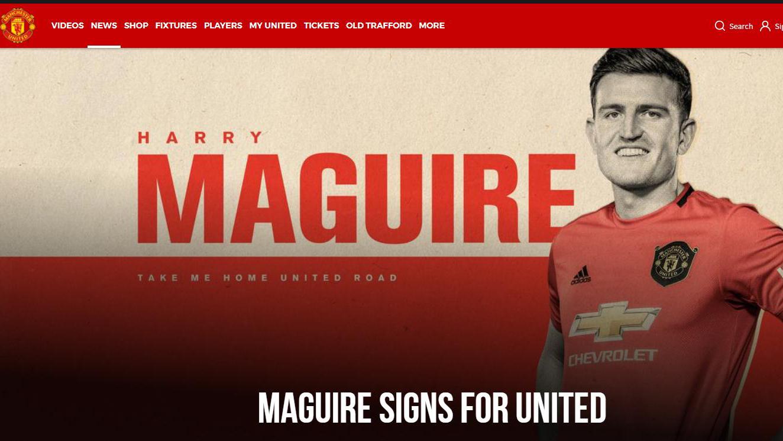 bong da, bóng đá, MU, chuyển nhượng MU, chuyen nhuong MU, tin tức chuyển nhượng MU, tin chuyen nhuong MU, tin tuc bong da, Harry Maguire, Maguire chính thức gia nhập MU