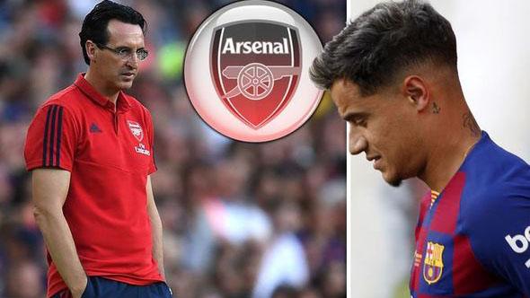 Arsenal, Philippe Coutinho, chuyển nhượng, Pháo thủ, Coutinho, Barcelona, lịch thi đấu bóng đá, bóng đá hôm nay, trực tiếp bóng đá, chuyển nhượng Arsenal, chuyển nhượng barcelona