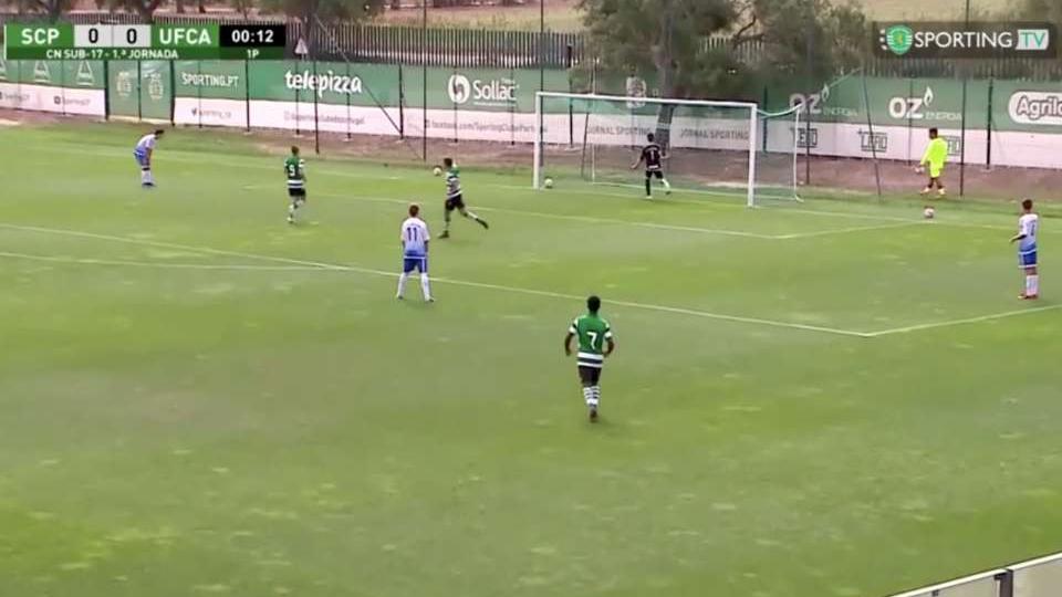bóng đá, U17 Sporting Lisbon, U17 Uniao Almeirim, phản lưới nhà, trực tiếp bóng đá, xem trực tiếp bóng đá, lịch thi đấu bóng đá