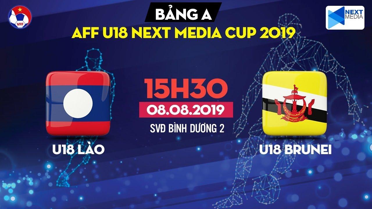 U18 Lào vs U18 Brunei, U18 Indonesia vs U18 Timor Leste, U18 Myanmar vs U18 Philippines, U18 Đông Nam Á 2019, trực tiếp bóng đá