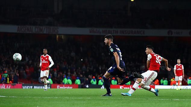 Arsenal, arsenal, bóng đá, bong da, league cup, cúp liên đoàn anh, ronaldo, cristiano ronaldo, Gabriel Martinelli
