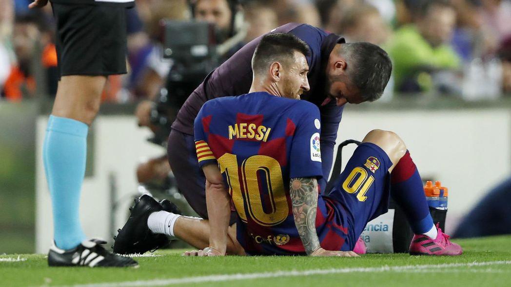 messi, Messi, La Liga, Barcelona, Barca, Villarreal, chấn thương, messi chấn thương, bóng đá, bong da, kết quả bóng đá