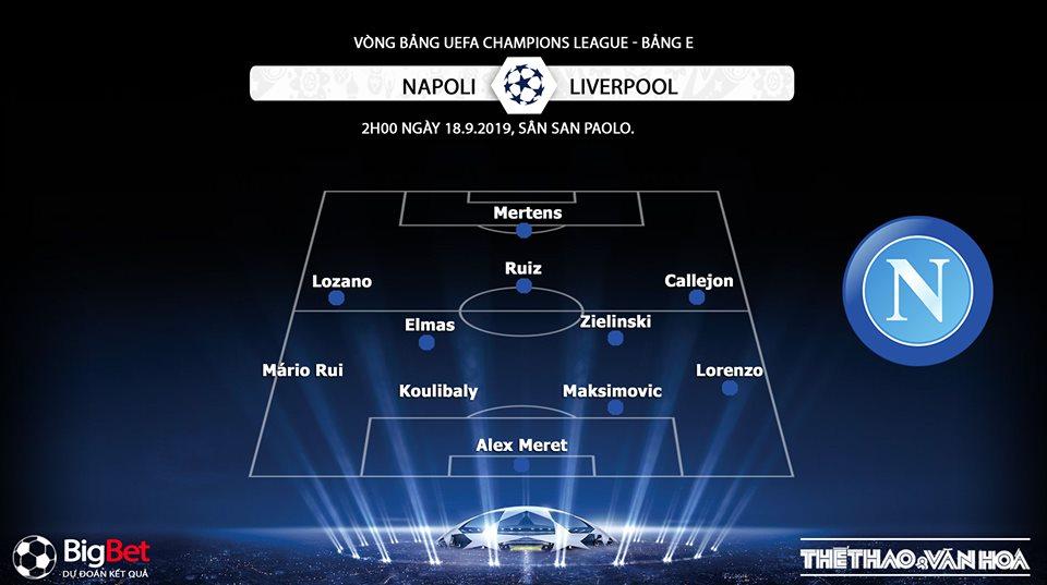 soi keo bong da, Napoli đấu với Liverpool, truc tiep bong da hôm nay, Liverpool vs Napoli, trực tiếp bóng dá, xem bong da truc tuyen, C1, Cúp C1, Champions League