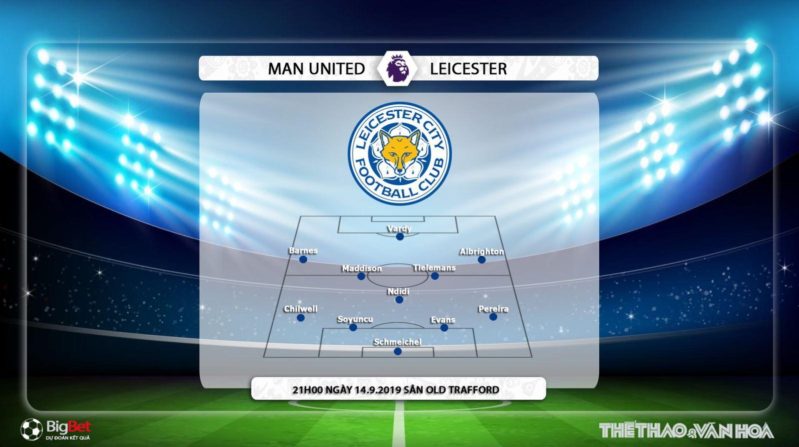 K+, K+PM, soi kèo bóng đá, MU đấu với Leicester, truc tiep bong da hôm nay, MU vs Leicester, trực tiếp bóng đá, xem bong da truc tuyen, bong da, Ngoai hang Anh, Man Utd