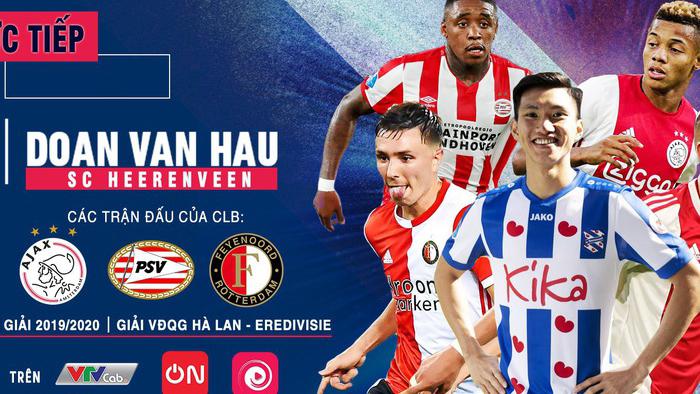 bóng đá TV, trực tiếp bóng đá, Văn Hậu, Đoàn Văn Hậu, Heerenveen vs Utrecht, truc tiep bong da hôm nay, Heerenveen đấu với Utrecht, bóng đá Hà Lan, BĐTV