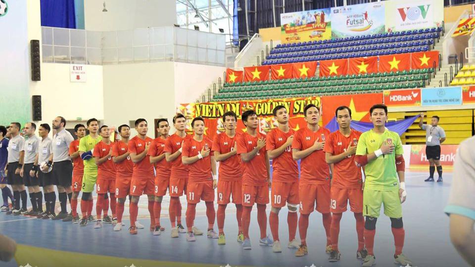 Myanmar là đối thủ vừa sức với tuyển futsal Việt Nam