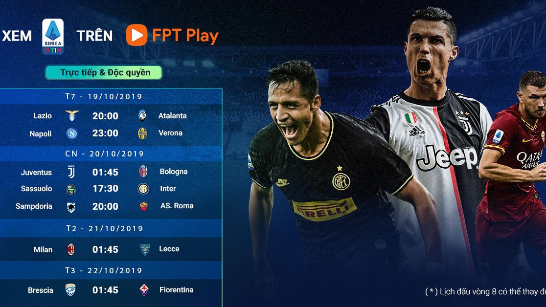 Serie A, trực tiếp bóng đá, bóng đá, lịch thi đấu Serie A, bong da, lịch thi đấu bóng đá Ý, Juventus, Inter Milan