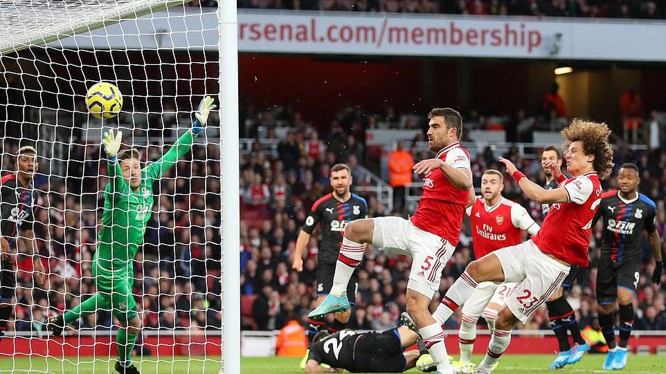 Ket qua bong da, kết quả bóng đá, Arsenal 2-2 Crystal Palace, kết quả Arsenal đấu với Crystal Palace, bảng xếp hạng bóng đá Anh, bxh ngoại hạng Anh, Arsenal