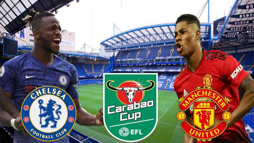 bóng đá, bong da, Chelsea vs MU, trực tiếp Chelsea vs MU, cúp liên đoàn anh, carabao cup, trực tiếp bóng đá