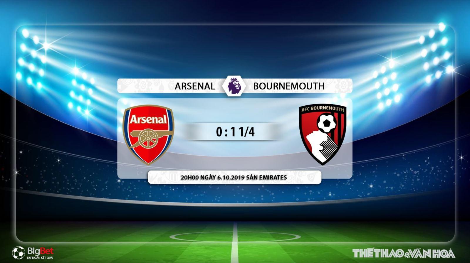 soi kèo bóng đá, Arsenal đấu với Bournemouth, truc tiep bong da hôm nay, Arsenal vs Bournemouth, trực tiếp bóng đá, K+, K+PM, K+PC, xem bóng đá trực tuyến, Arsenal
