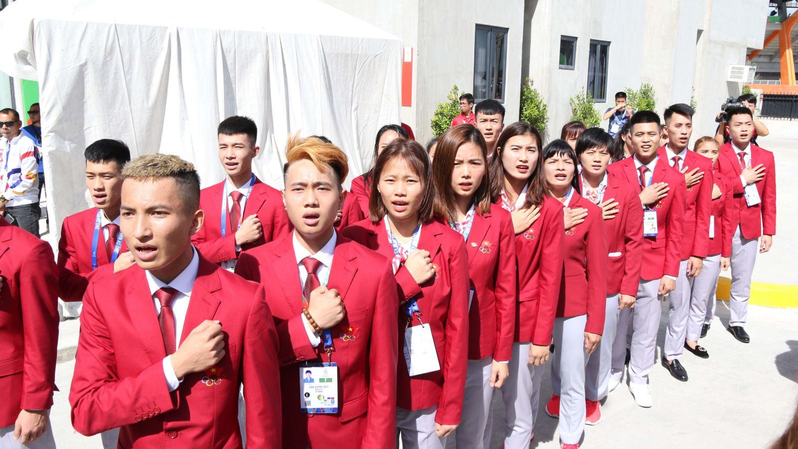 Lễ thượng cờ SEA Games 30: Khẳng định mục tiêu giành 65 HCV và vô địch bóng đá nam, nữ