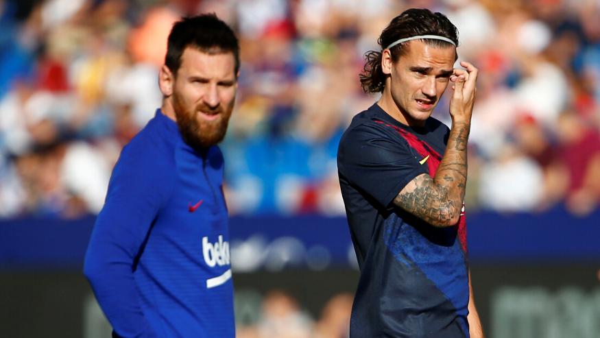 messi, barcelona, griezmann, barca, kết quả bóng đá, bong da, bóng đá, la liga, tây ban nha