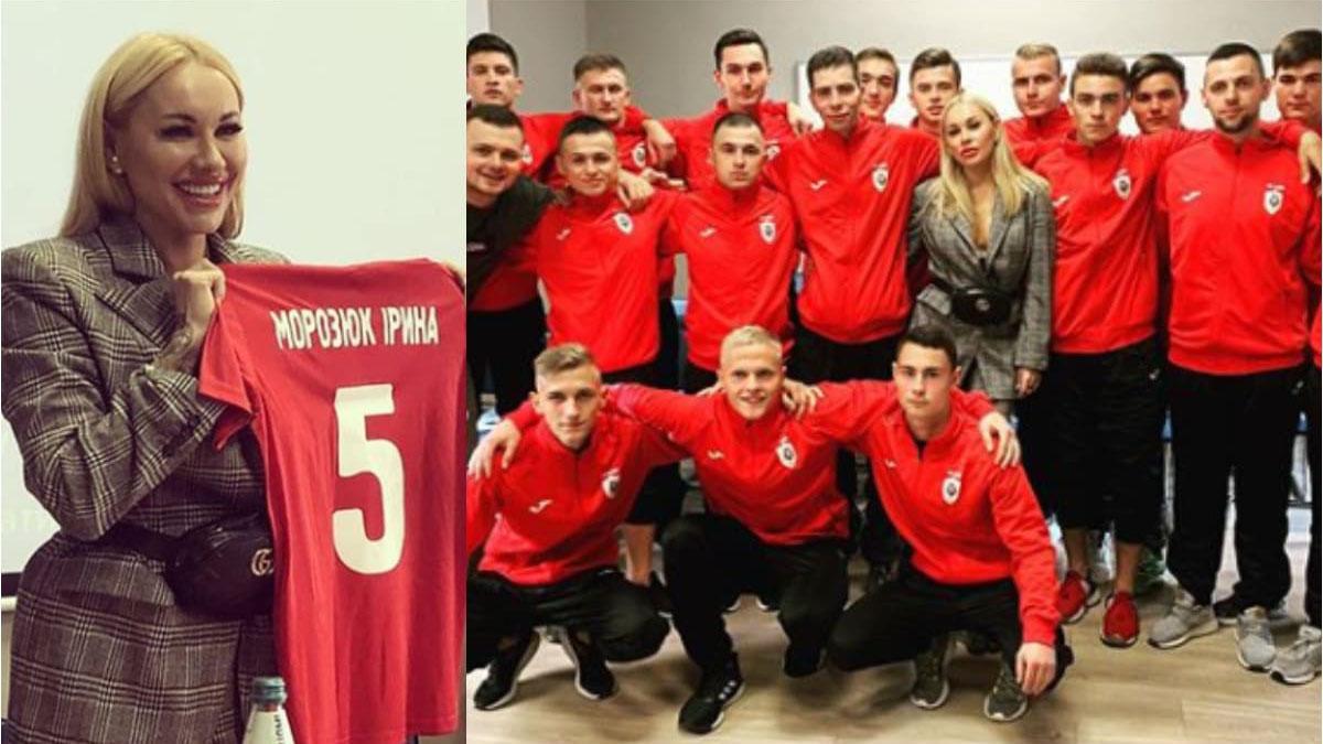 WAGs, Ukraine, Irina Morozyuk, bóng đá, bong da, nóng bỏng, người đẹp