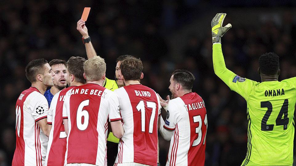 ket qua bong da hôm nay, trực tiếp bóng đá, thẻ đỏ, Daley Blind,  ket qua bong da, lich thi dau bong da hom nay, bong da hom nay, Joel Veltman, penalty, Cúp C1, Chelsea, Chelsea vs Ajax, Lampard, K+, K+PM, K+PC