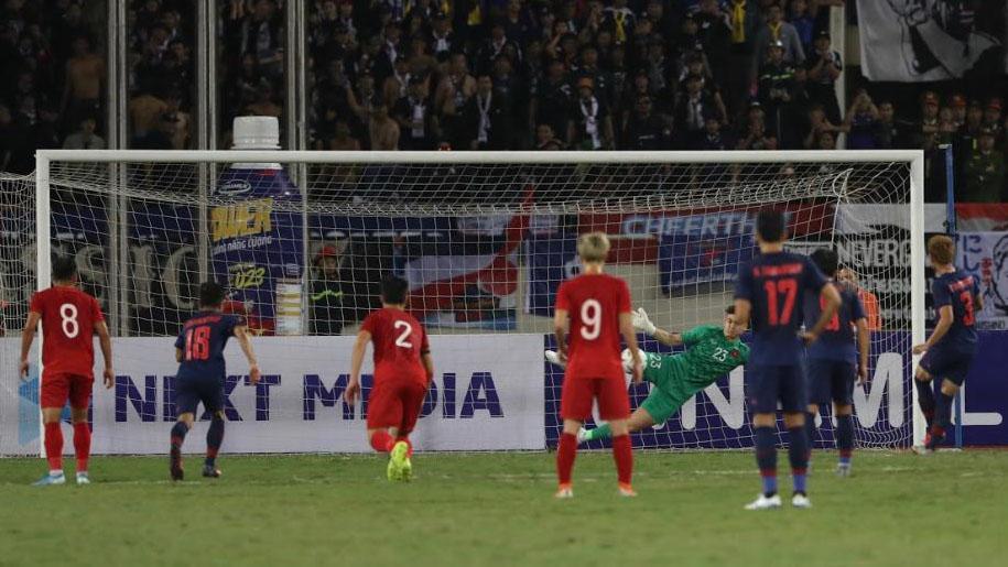 Việt Nam đấu với Thái Lan, 11m, trọng tài thổi 11m cho Thái Lan, trực tiếp bóng đá, bảng xếp hạng bảng G vòng loại World Cup 2022, Việt Nam vs Thái Lan, VTV6, Văn Lâm
