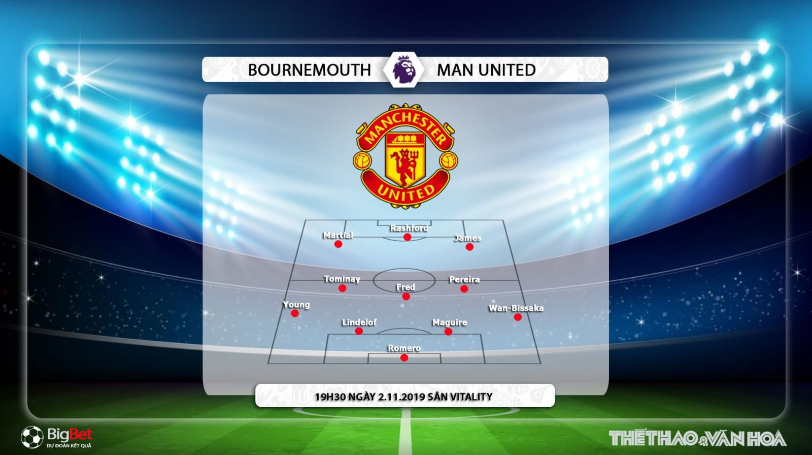 MU, Man Utd, Manchester United, Bournemouth đấu với Man Utd, MU vs Bournemouth, Bournemouth vs Man Utd, MU đấu với Bournemouth, Man Utd đấu với Bournemouth