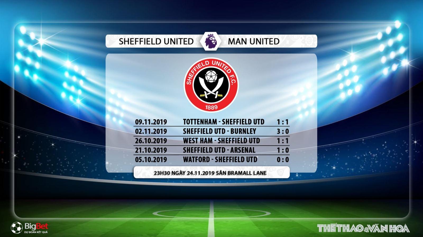 Sheffield Utd vs MU, trực tiếp bóng đá, bóng đá, bong da, soi kèo Sheffield Utd vs MU, mu, sheffield, dự đoán, K+, K+PM, K+PC