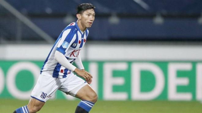 Văn Hậu nói gì sau khi chính thức được ra mắt đội một của Heerenveen?