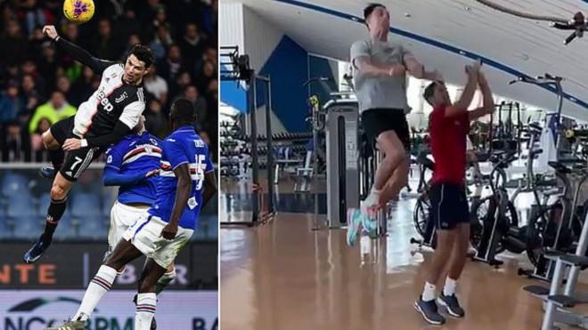 Cristiano Ronaldo, Juventus, bật cao, Novak Djokovic, lịch thi đấu, trực tiếp bóng đá, bóng đá, đánh đầu