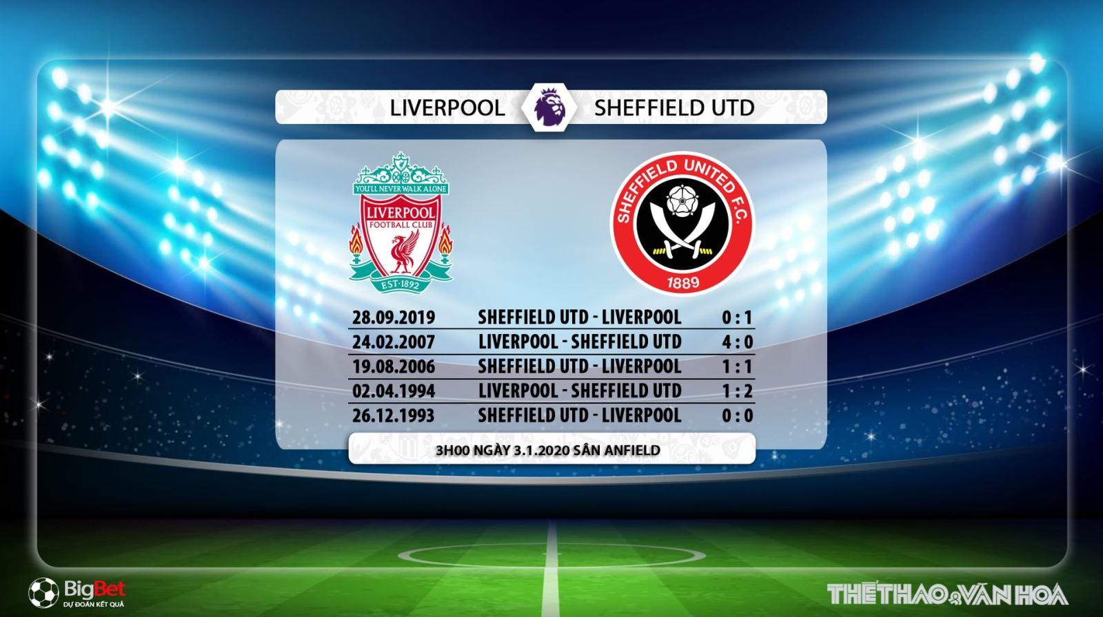 Liverpool vs Sheffield, bóng đá, bong da, trực tiếp bóng đá, trực tiếp Liverpool vs Sheffield, Liverpool, Sheffield, lịch thi đấu, K+PM, K+