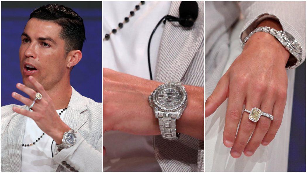 Cristiano Ronaldo, ronaldo, lịch thi đấu, bóng đá, đồng hồ, rolex, đồng hồ rolex, Rolex GMT Master Ice