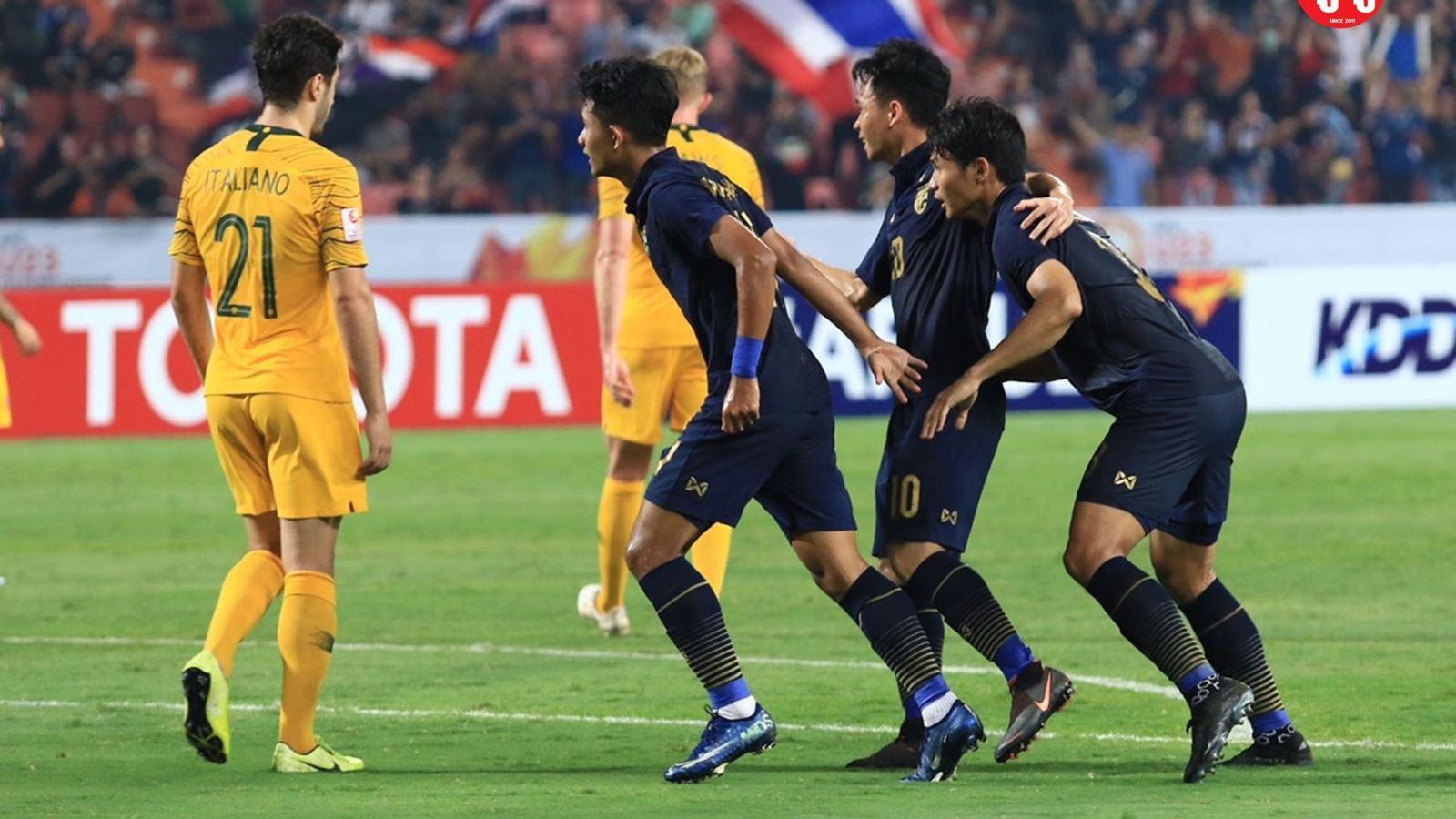 Ket qua bong da U23 chau A, Ket qua bong da, U23 Úc vs Thái Lan, U23 Thái Lan vs Úc, Kết quả U23 châu Á 2020, Australia 2-1 Thái Lan, kết quả bóng đá trực tuyến